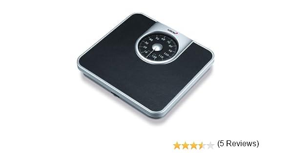 Korona Mika Báscula de baño mecánicas - analógica, escala hasta 130 kg, intervalos en gramos 1000: Amazon.es: Salud y cuidado personal