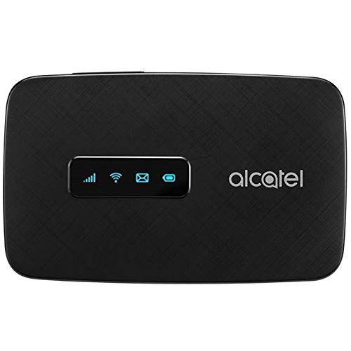 Alcatel LINKZONE US Unlocked 4G LTE Mobile Wi-Fi Hotspot w/iOS & Android App, GSM Unlocked, Up to 15 Users MW41 (Unlocked Global 4G LTE)