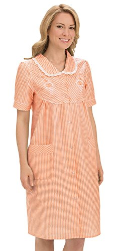 Collections Etc Womens Gingham Closure