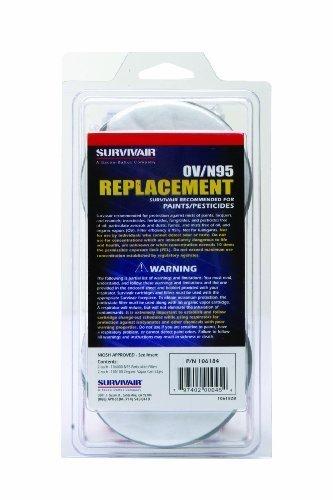 Honeywell 106184 S-Series Organic Vapor/N95 Cartridge/Filter (Pack of 2)