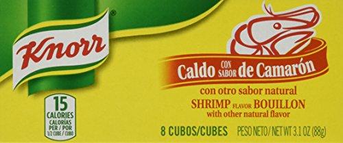 Knorr Caldo De Camaron - Shrimp Bouillon Cubes 88g Each 3 Piece Lot From Mexico