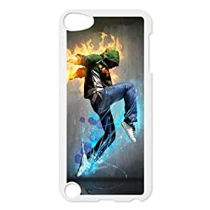 iPod Touch 5 Case White Fire Sport Dancer J2R7JX
