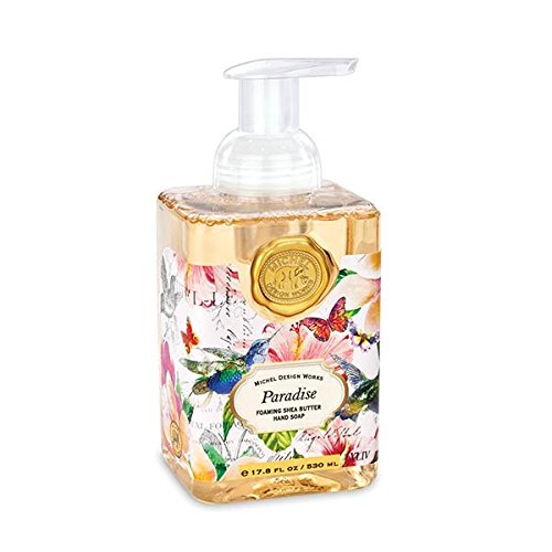 Kitchen Paradise (Michel Design Works Plumeria & Hibiscus Scented Foaming Hand Soap, Paradise)