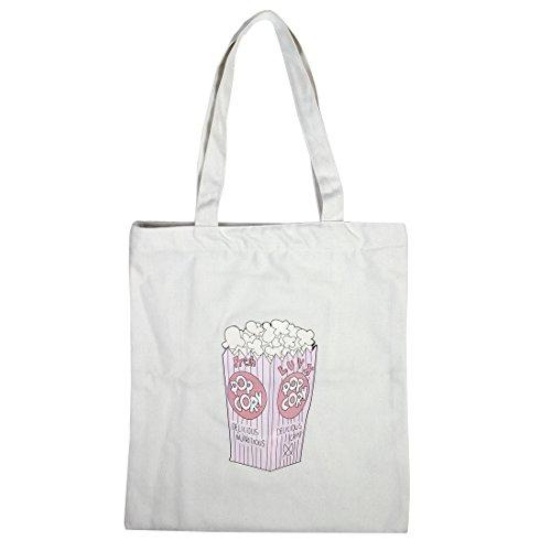 sourcingmap Dame Doppelschicht zwei Schultergurt Tasche wiederverwendbare Tote Handpackung Einkaufstasche