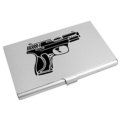 Card Business Card Holder Credit Azeeda Weapon' Wallet CH00015543 'Handgun vYwqUB