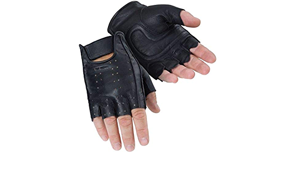 Tourmaster Select Fingerless 2.0 Gloves Motorcycle Street Bike