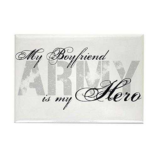 CafePress - Boyfriend Is My Hero ARMY - Rectangle Magnet, 2