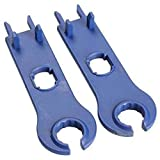 ARCELI New 1 Pair of Solar MC4 Tool Spanner Wrenches for Solar Panel Cable PV System Wire and MC4 Connectors Assembly