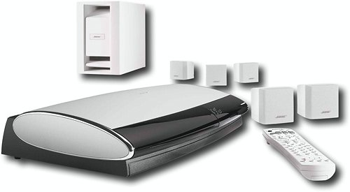 bose home theater white. amazon.com: bose lifestyle 18 series iii dvd home entertainment system - white: electronics theater white w