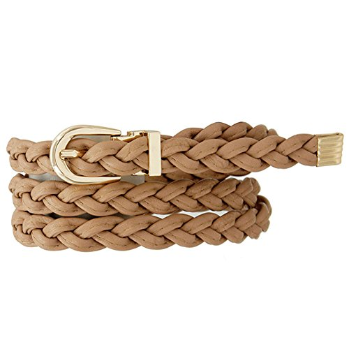 Braided Skinny Belt (Skinny Braided Belt)