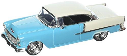 (Jada 1:24 Metals Big Time Muscle - 1955 Chevrolet Bel Air Hardtop Diecast Model Car -)