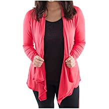 Katie K. Active Lightweight Soft Open Front Shawl Collar Cardigan For Women Ð Draped Long Sleeve