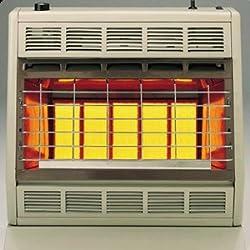 Empire Infrared Heater Natural Gas 30000 BTU, Thermostatic Control