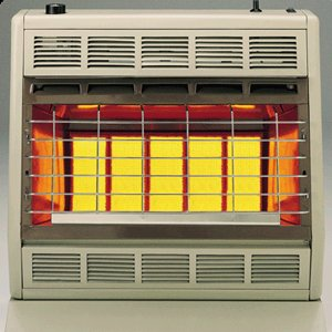 Blower Thermostatically Controlled - Empire Infrared Heater Natural Gas 30000 BTU, Thermostatic Control