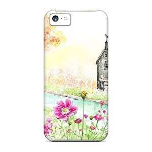For Iphone 5c Protector Case Cg Paint Phone Cover