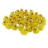 Stuffwholesale 1.5inch Rubber Sound Duck Baby Bath Toys Larger Image
