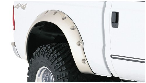 Bushwacker 20044-02 Ford Cut-Out Fender Flare - Rear Pair
