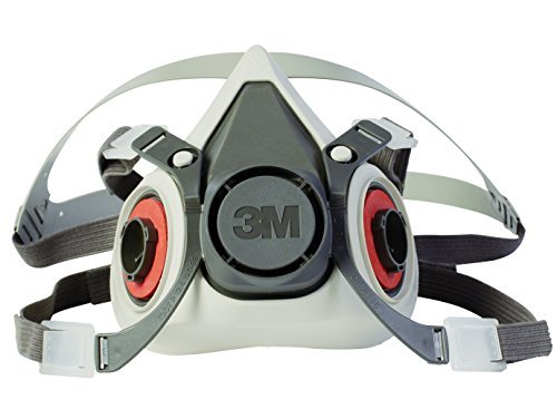 3M 6000 Series Half Facepiece Low-Maintenance Respirators - Small Size -