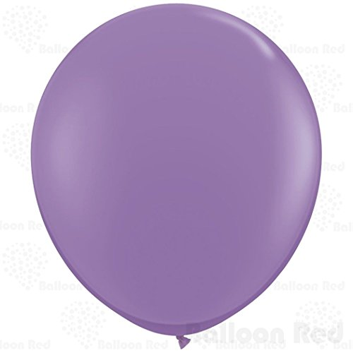 36 Inch Giant Jumbo Latex Balloons (Premium Helium Quality), Pack of 1, Regular Shape - Lavender