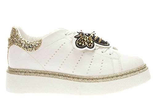Cle103659 Bianco Sneakers Platino Donne Cult pPxqz0