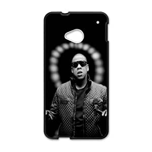 Stylish Jay Z HTC One M7 Cell Phone Case Black phone component RT_401607