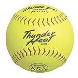 11'' Thunder Heat WT11 Leather Softballs from Dudley Spalding - 1 Dozen