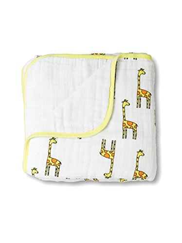 aden + anais Unisex Classic Dream Blanket Jungle Jam - Giraffe Baby Care