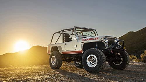 Jeep CJ8 Scrambler Car Poster Print (24x36 Inches) (Cj8 Jeeps)
