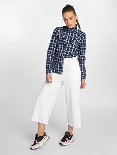 Camicia Blu Jaden Blue Frill Only fwIqd7I