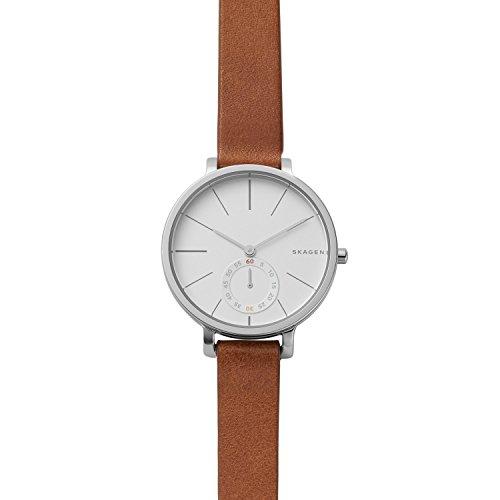 Skagen Women's SKW2434 Hagen Dark Brown Leather Watch