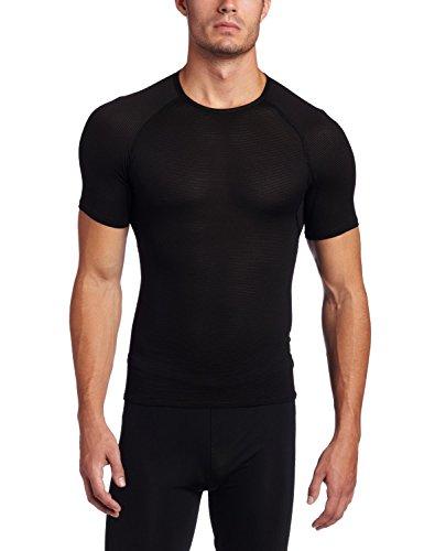 Gore Bike Wear Men's Base Layer Shirt, Black, XX-Large - Zero Short Sleeve Base