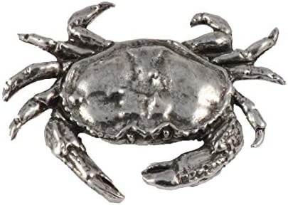 Dungeness Crab Pewter Lapel Pin Brooch Jewelry A151