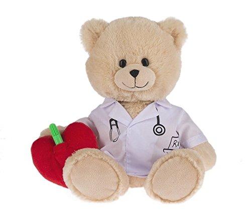 Doctor Bear - Ganz Write on, Get Well Stuffed Bear, Doctor