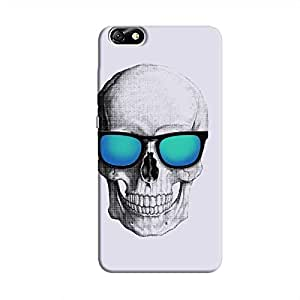 Cover It Up - Cool Skull Honor 4X Hard Case