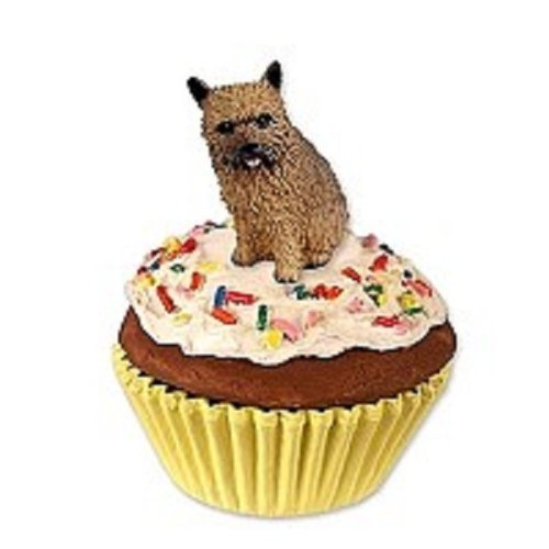 Norwich Terrier Pupcake Trinket Box (Stone Pupcake Terrier)