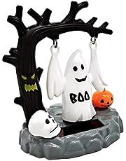 Zonne-auto Decoratie Pompoen Skelet Kleine Engel Zonne Energie Halloween-truc, Voor Feest, Auto, Bureau, Woondecoratie