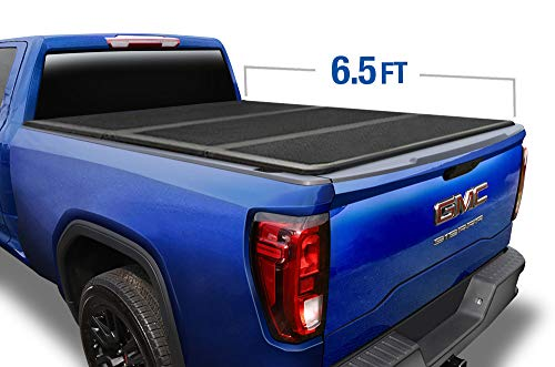 Tyger Auto T5 Alloy Hard Top Tonneau Cover TG-BC5C1007 Works with 2014-2019 Chevy Silverado/GMC Sierra 1500 2015-2018 2500 3500 HD | Fleetside 6.5' Bed | Without Utility Track System