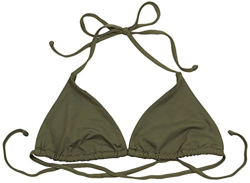 ToBeInStyle Women's Halter Back Tie Triangle Top - for sale  Delivered anywhere in Canada