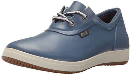 Bogs Women's Quinn Shoe Rain Boot, Blue, 7 M US