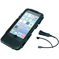 IPX5 Waterproof Tough Case for iPhone 6 Plus with Power Adapter fits Ultimate Addons Bike Mounts / Chargers (sku 31501)