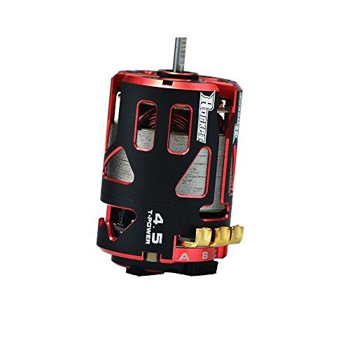 Price comparison product image Jrelecs 540 4.5T 7800KV 3.175mm Shaft Sensored Brushless Motor Racerstar V4S Rocket Stock Spec Brushless 2 Sensor for 1 / 10 RC Racing Car