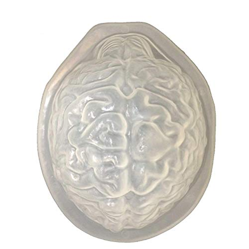 DIY Life Size BRAIN DESSERT JELLO GELATIN MOLD Zombie Food Halloween Horror Prop -