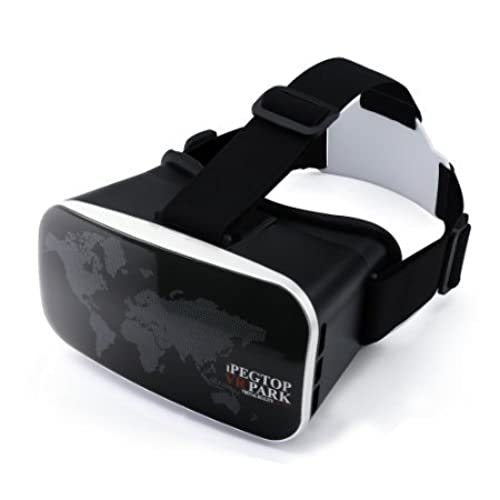 ipegtop VR Box, VR Park V3 Virtual Reality 3d Glasses for 3d Video Games Headset for 4-6 Inch Smartphone iPhone 6 6 Plus, Samsung Galaxy S7 S6 edge, ...