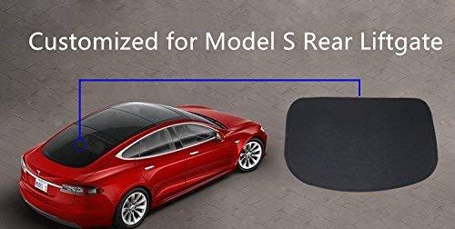 Hamkaw Tesla Model 3 Accessories Front Sunshade/& Rear Sunshade Suitable For All Tesla Model 3