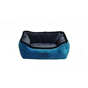 SCREAM Rectangle Small Animal Bed 30x27x12cm, Loud Blue
