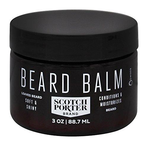 Scotch Porter – All Natural Men's Beard Balm – 3 oz.