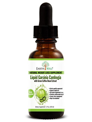 Liquide Garcinia Cambogia avec Green Coffee Bean Extrait - Perte de poids naturelle et Supplément appétit de répression - une absorption plus rapide - deux suppléments dans un (60 ml)