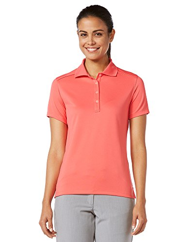(Callaway Women's Golf Micro Pique Short Sleeve Polo Shirt, Paradise, XX-Large)