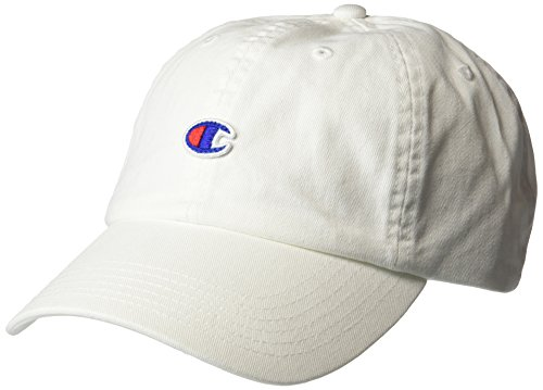 Champion Men's Father Dad Adjustable Cap, white, OS -