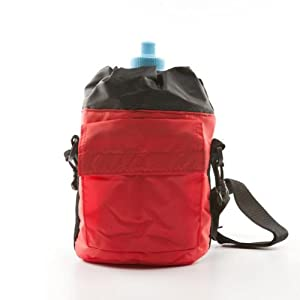 Bluewave Insulated Sport Sac Water Bottle Holder, Red, 2L